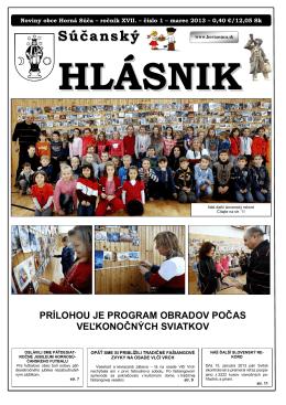 Súčanský hlásnik 2013 číslo 1.pdf