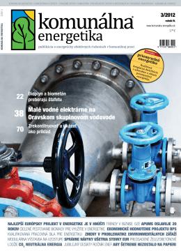 Komunálna energetika 3/2012 - MicroStep