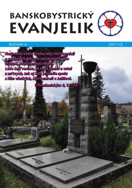Banskobystrický evanjelik - Cirkevný zbor Evanjelickej cirkvi a.v. na
