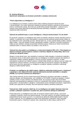 Prečítajte si rozhovor s Dr. Andreas Winkens ( stiahnuť PDF )