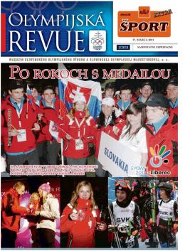 Olympijská revue 1/2011 - Slovenský olympijský výbor