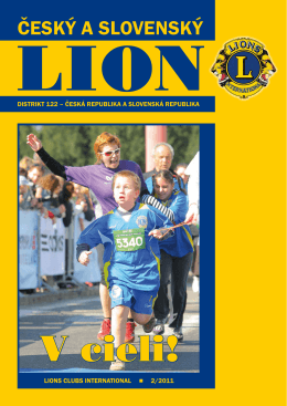 LION 2/2011 - Lions Clubs International / Distrikt 122