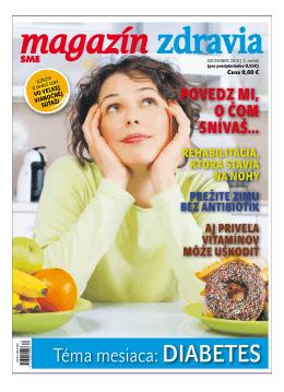 December 2014 - Magazín Zdravia