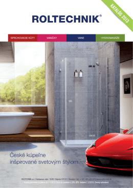 sprchovacie kúty - Sprchové kouty, vany, vaničky a hydromasáže