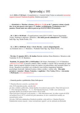 Spravodaj c 101 - szcpv
