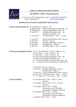 Informácie o štúdiu FDU AU 2015-2016.pdf