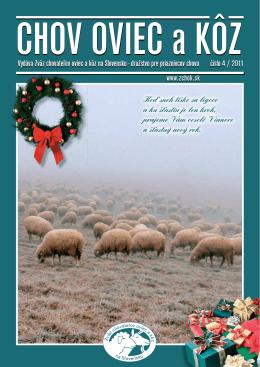 Číslo 04/2011 - Zväz chovateľov oviec a kôz na Slovensku