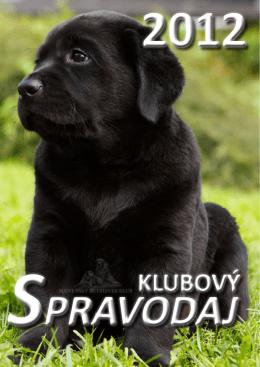 spravodaj - Slovenský retriever klub