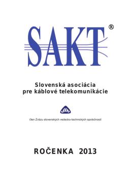Ročenka 2013.pdf - Výskumný ústav spojov, no