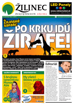 Žilinské safari: