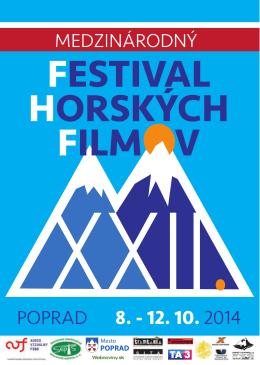 curriculum vitae - XXIII. Medzinárodný festival horských filmov