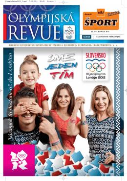 Olympijská revue 3/2011 - Slovenský olympijský výbor