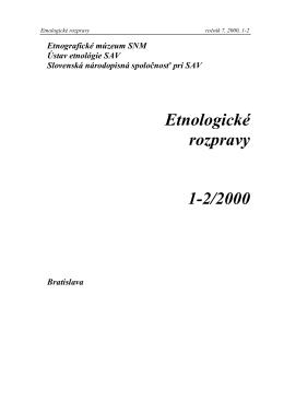 ER 2000/1-2 - Zuzana Beňušková