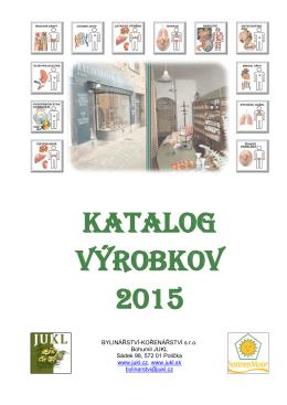 KATALOG VýROBKOV 2015 - Bylinářství