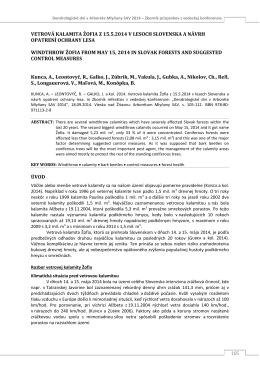 DD2014_2.pdf - Arborétum Mlyňany SAV