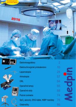 Elektrokoagulátory Elektrochirurgické príslušenstvo