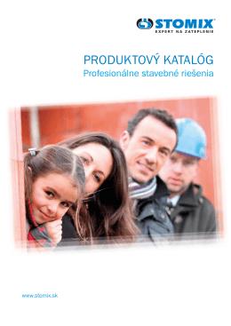 produktový katalóg