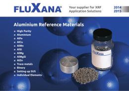 Aluminium Reference Materials