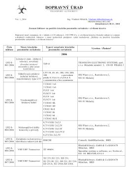 Zoznam súhlasov 2006_2014
