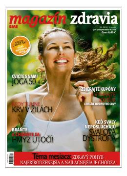 Júl 2014 - Magazín Zdravia