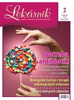 spotreba antibiotík - Slovenský spolok študentov farmácie