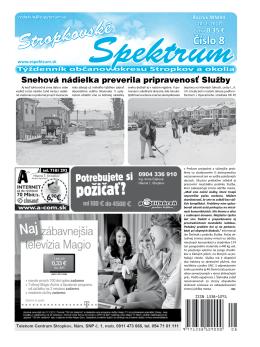 Stropkovské - Espektrum.sk