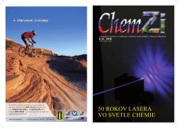 Chem Zi 6/2 2010 - Slovenská chemická spoločnosť