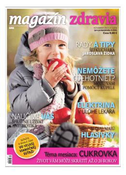 November 2013 - Magazín Zdravia