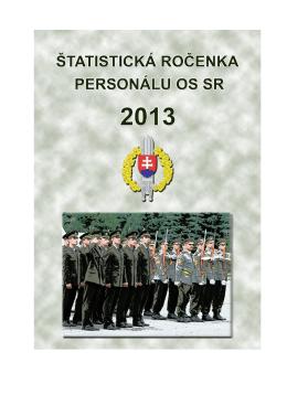 3 prehľad počtov personálu - Personálny úrad OS SR