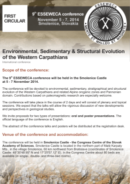 Environmental, Sedimentary & Structural Evolution of the Western