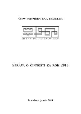 pdf 2.8 Mb - Ústav polymérov, SAV
