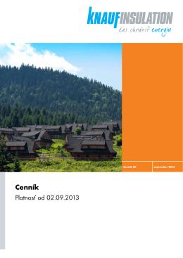 Cenník - AZ FLEX