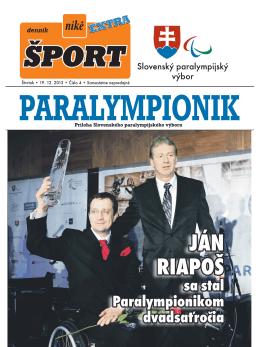 Príloha Slovenského paralympijského výboru