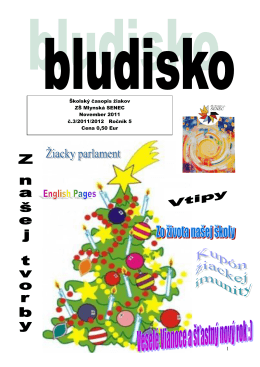 Ročník 5 č.3 2011/2012 - Základná škola • Mlynská 50, Senec