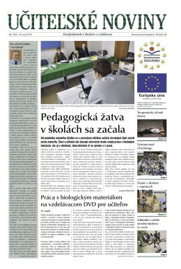 Ucitelske noviny_48_2014.indd - Domov