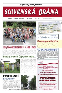 2014-14 - Slovenská brána