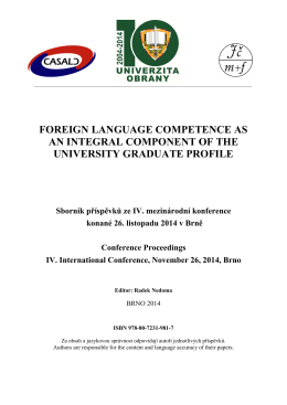 foreign language competence as an integral