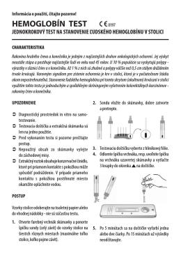 HEMOGLOBÍN TEST