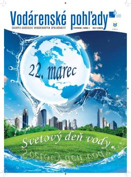 časopis asociácie vodárenských spoločností