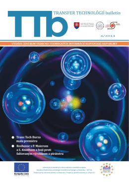 4/2014 - Transfer technológií - Centrum vedecko