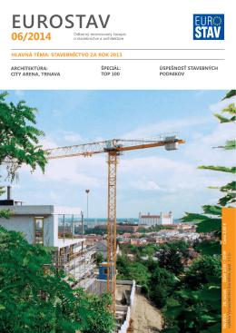 rebríček najúspešnejších firiem na slovenskom stavebnom