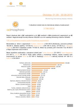 Internetova reklama 09 2013