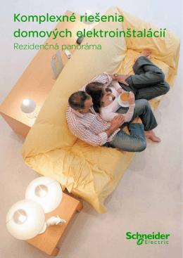 Komplexné riešenia domových elektroinštalácií