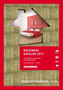ROCKWOOL_cennik_tepelne a technicke izolacie