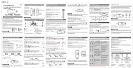 Lorex TD-4235 Owners Booklet SK