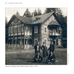 Zotavovňa Turistického spolku Priatef`ov prírody v čermeli vr. 1930
