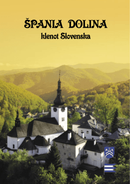A book about Špania Dolina