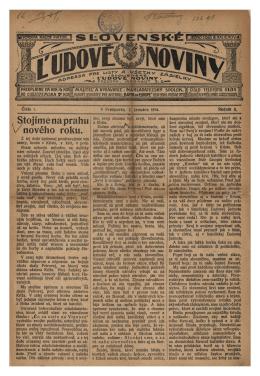 Slovenské ľudové noviny 02.01.1914