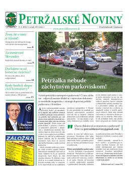 3 - Petržalské Noviny