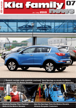 Students Develop Their Practical Skills At Kia Motors Slovakia